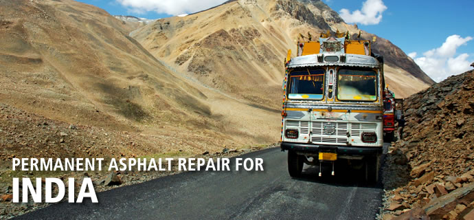 Permanent Asphalt Repair for India